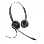 Biaural headset for Alcatel BCA-IP telephones