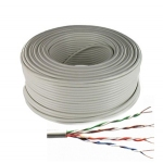 Cat 5E UTP cable Solid 100 Mt