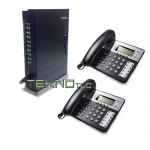 Pbx switchboard 1/8 2 phones Office 201