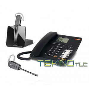 Alcatel telefono temporis 780con cuffia cordless Cs 540A