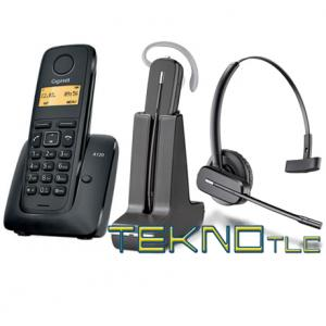AS 120 con  cuffia dect C565 Plantronics