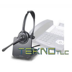 Cuffia telefonica cordless CS 510A Plantronics da16e57abf61