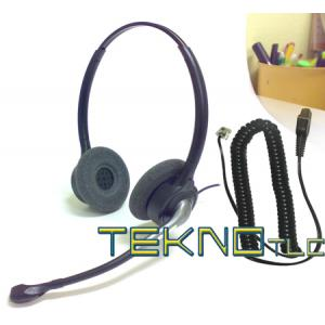binaural headset for phone Panasonic