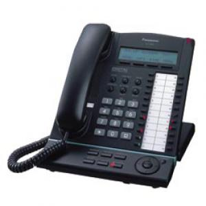 Panasonic telefono digitale KX-T 7633 Nero