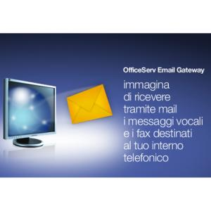 Licenza Email Gateway per voice mail
