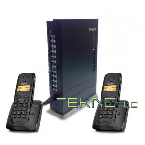 Bundle centralino PBX 308+2 AS120 Siemens Gigaset