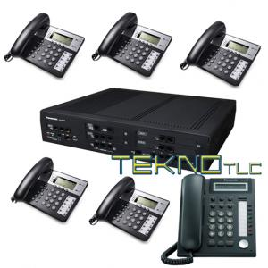 Switchboard Panasonic NS500 Dt521 1 + 5 tel Bca Office
