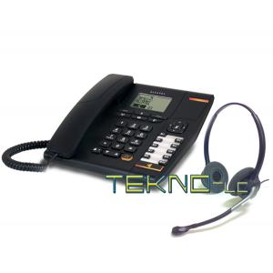 Alcatel temporis 780 binaural headset Tk880