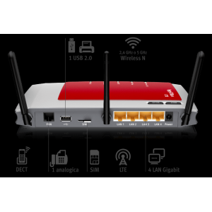 Centralino Modem router FRITZ!Box 6840 LTE