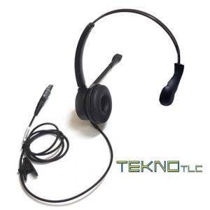 Monoaural telephone headset for Cisco CP 8851 telephone