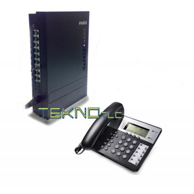Pbx 1/8 switchboard and Office 201 telephone