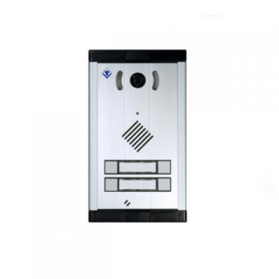 Door phone with 4 expandable AA-514 buttons
