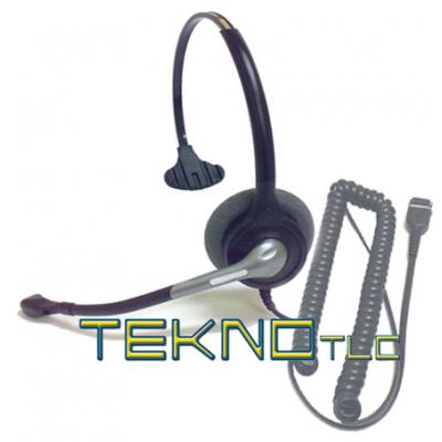 Monaural telephone headset for Ip Maxwell telephone