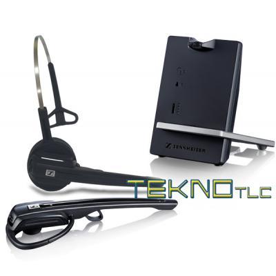 Sennheiser d10 phone cuffia telefonica cordless dect - Telefoni cordless design ...