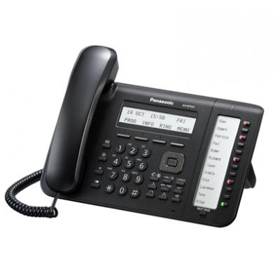 KX-NT553 VoIP phone with 12 Panasonic LED keys