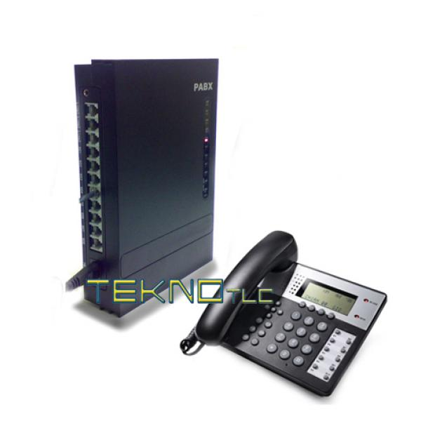 Switchboard 3 Lines 8 internal 3/8 +1 Telephone office 201