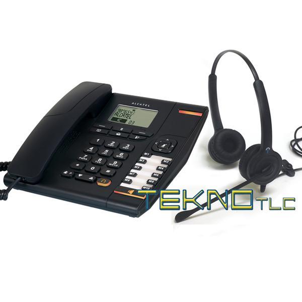 Telefono bca Alcatel con cuffia biaurale Ipn 1517e55a32c6